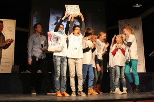 1. De grote winnaar van de ÔÇÿChampions AwardÔÇÖ is team 3. First Compass Trashers van het Kompass uit Alkmaar